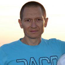 Rafał Marcinkowski - instruktor gimnastyki oraz autor strony internetowej zespołu GAMA
